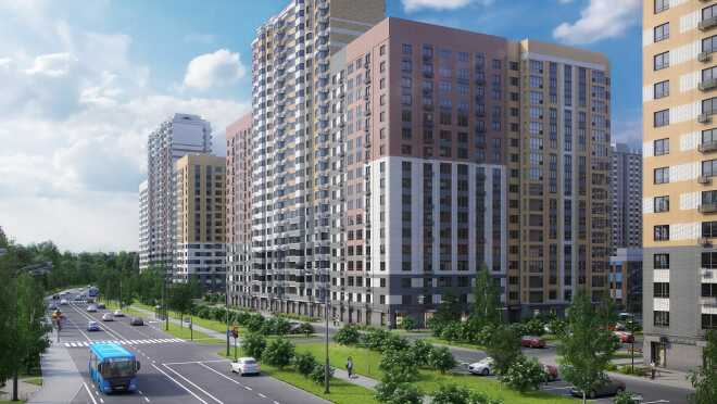 Микрорайон «Южная Битца» Квартиры с отделкой от 4 млн рублей